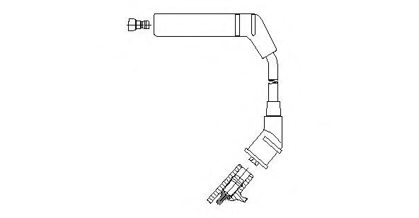 3A24/66 Ignition System Ignition Cable