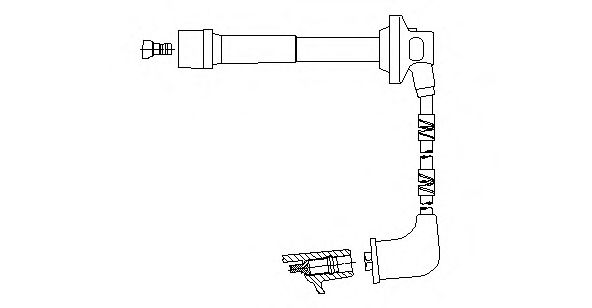 496F59 Ignition System Ignition Cable