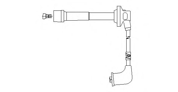 496H41 Ignition System Ignition Cable