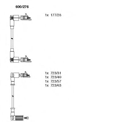 600/276 Compressed-air System Boot, air suspension