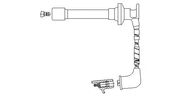 659F61 Ignition System Ignition Cable