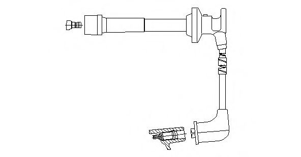 660E43 Ignition System Ignition Cable