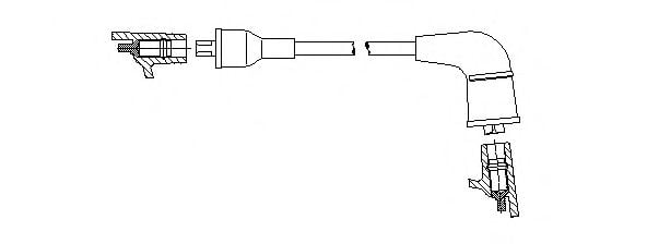 6A69/44 Ignition System Ignition Cable