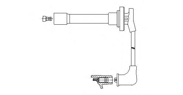739/32 Ignition System Ignition Cable Kit
