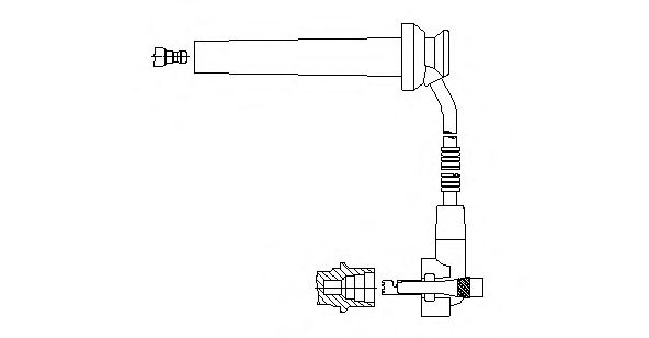 891E102 Ignition System Ignition Cable