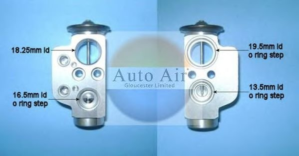 22-8617 Expansion Valve, air conditioning