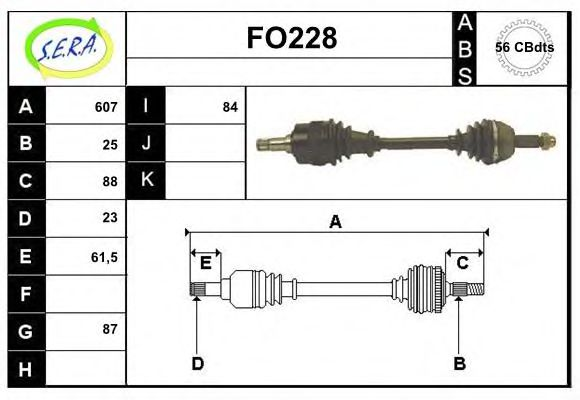 FO228 Exhaust System