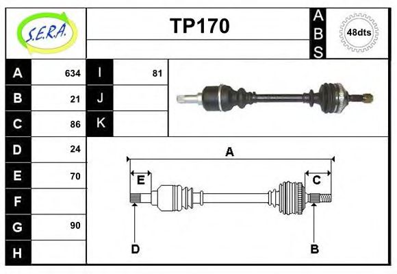 TP170 Switch Unit, ignition system