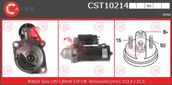 CST10214RS Starter