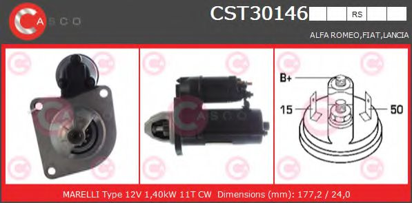 CST30146RS Starter
