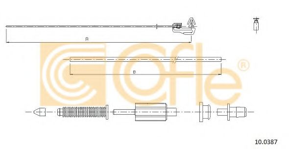 10.0387 Accelerator Cable