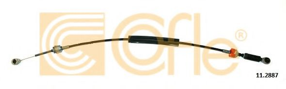 11.2887 Cable, manual transmission
