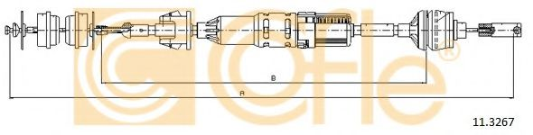 11.3267 Clutch Cable