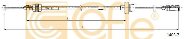 1403.7 Accelerator Cable