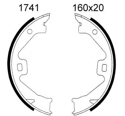 01741 Gasket, exhaust pipe