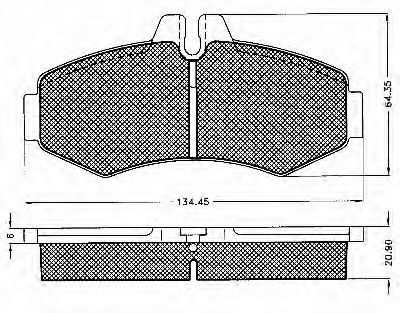 10572 Cable, parking brake