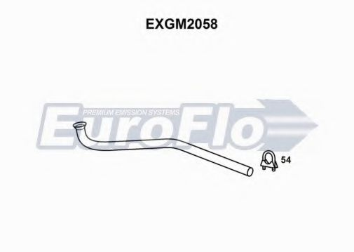EXGM2058 Exhaust Pipe