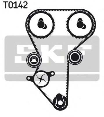 VKMC 03216 Deflection/Guide Pulley, timing belt