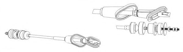 FCC422809 Clutch Cable