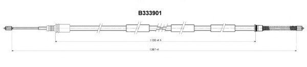 FHB431129 Cable, parking brake