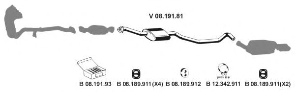 082282 Exhaust System