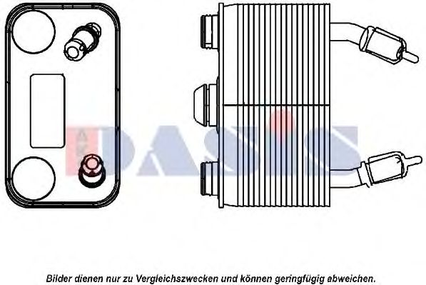056034N Oil Cooler, automatic transmission
