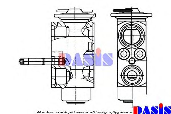 840108N Expansion Valve, air conditioning