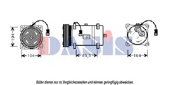851330N Compressor, air conditioning