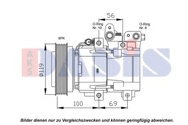 851838N Compressor, air conditioning