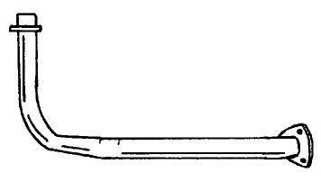 SG40143 Exhaust Pipe