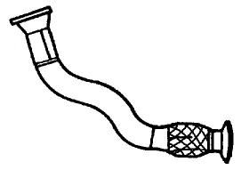 SG22120 Exhaust Pipe