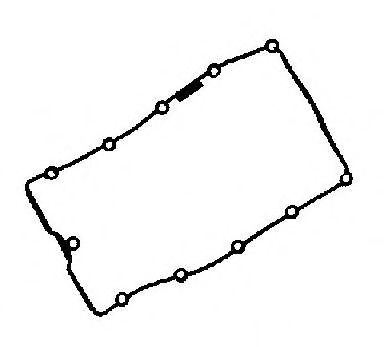 X83029-01 Gasket, cylinder head cover