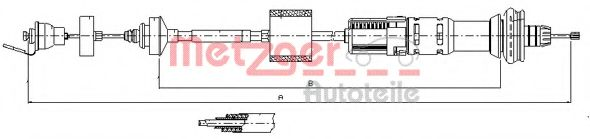 11.2154 Clutch Cable