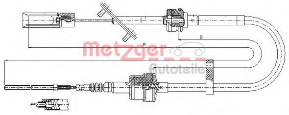 492.10 Clutch Clutch Cable